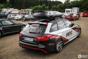 Audi RS4 Avant valt graag op