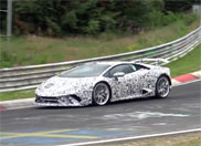 Lamborghini is testing the Huracán Superleggera