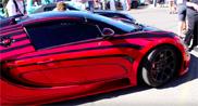Movie: Bugatti Veyron 16.4 Grand Sport Vitesse at full blast