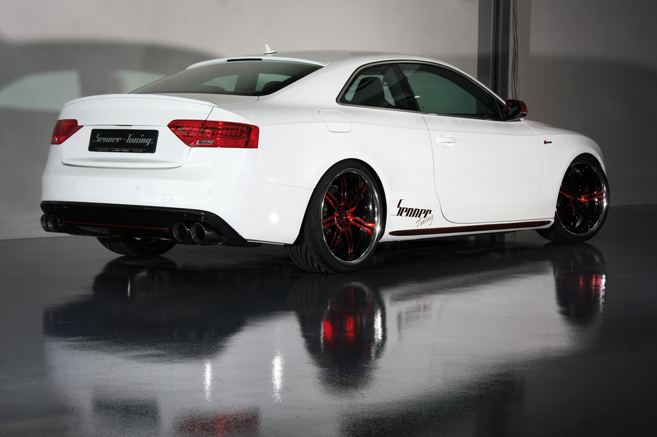 Senner Tuning Tunes The Audi S5