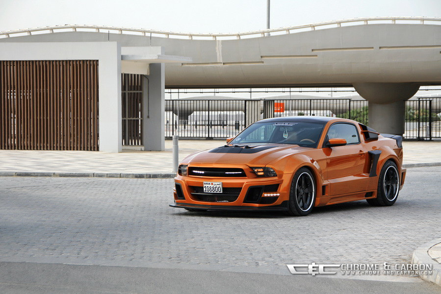 Ford Mustang Gt With Tornado Bodykit Is Suitable For The Transformers