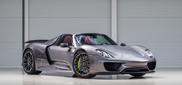 Spot van de dag: Porsche 918 Spyder in een fraaie combo
