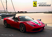 Ferrari 458 Speciale Spider will be available as a limited model