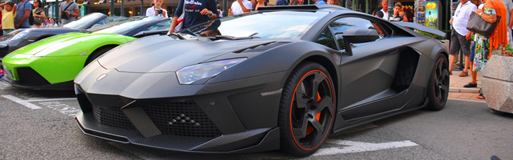 Timati shows up in Monaco with his Mansory Carbonado GT Black Star!