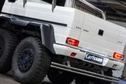 Carlsson stuurt Mercedes-Benz G 63 AMG 6x6 krachthonk in