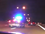 Movie: police pulls over a street racer
