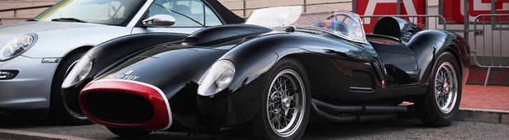 A beautiful replica based on a Ferrari: the 250 Testa Rossa