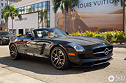 Gespot: Mercedes-Benz SLS AMG GT Roadster Final Edition