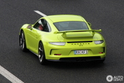 How green do you want your Porsche 991 GT3?