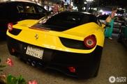 Is deze Ferrari 458 Italia op de juiste plekken gewrapt?