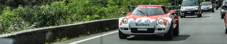 40 年经典拉力车: Lancia Stratos HF