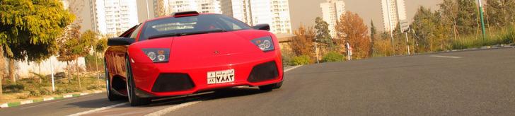 Spotted in Iran: Lamborghini Murcielago LP640