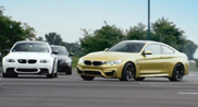 Movie: drifting with the BMW M4 F82 Coupé