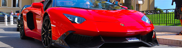 Gespot: Aventador LP700-4 Roadster door MVM Automotive Design