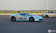 Deadmau5 has to remove the wrap on his Purrari