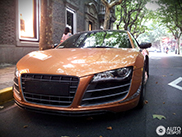 Zeldzame Audi R8 V10 China Limited Edition gespot