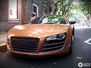 Zeldzame Audi R8 V10 China Limited Edition gespot