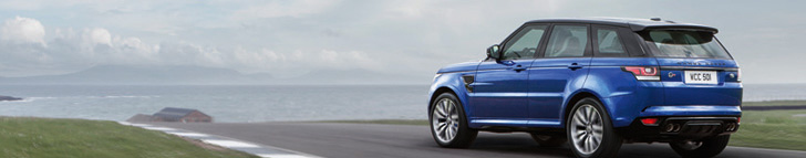 Range Rover Sport SVR is finally unveiled
