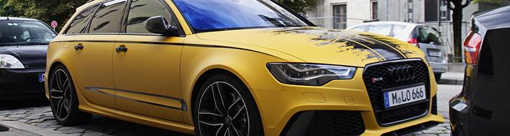 Gespot: duivelse Audi RS6 Avant