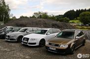 Drie generaties Audi RS6 gespot