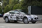 Maserati Levante verschuilt zich onder een Ghibli