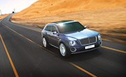 Bentley starts a new design direction with their new SUV