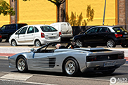 Spotted: very rare Ferrari Testarossa Straman Spider Conversion
