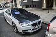 BMW M6 Gran Coupé omgebouwd tot Manhart MH6