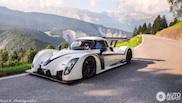 Radical racer on Swiss territory