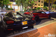 Last produced Koenigsegg Agera R spotted together with Pagani Huayra