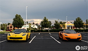 Two 600 hp supercars spotted together