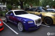 Rolls-Royce Wraith is deel van kleurrijke combo