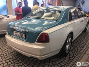 Unique Rolls-Royce Ghost Firnas Motif Edition spotted in Dubai