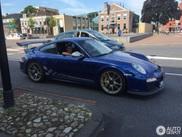 Blauwe 997 GT3 RS maakt Nederlandse straten vrolijker