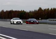 Filmpje: Nissan GT-R Alpha 12+ neemt het op tegen Bugatti Veyron