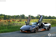Beautiful photos of a Lamborghini Murciélago LP650-4 Roadster