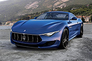 The rendered production version of Maserati Alfieri looks pretty good