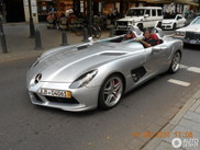 Bijzondere SLR McLaren Stirling Moss bezoekt Düsseldorf