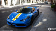 Very special Ferrari 458 Speciale in London