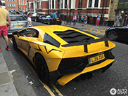 Another great Lamborghini Aventador SuperVeloce caught on camera