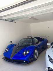Pagani Zonda HH parked in good company