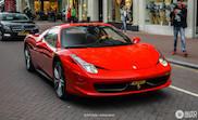 Opmerkelijke zaak: klant wil aankoopbedrag Ferrari 458 Spider terug