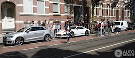 Porsche 991R in Amsterdam