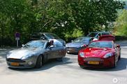 Aston Martin on tour: DBS, V12 Vantage, Vanquish en Rapide!