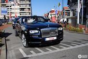 Rolls-Royce Dawn met duidelijke kentekenplaat