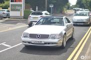 Gespot: Mercedes-Benz SL 73 AMG