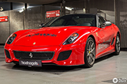 Spot van de dag: Ferrari 599 GTO