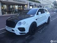 Bentley Bentayga onder handen genomen door Mansory