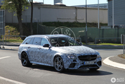 Why has this E 63 AMG Estate got extra wide wheel arches?