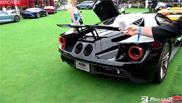 Filmpje: Ford GT gromt er op los